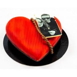 Gevuld hart 500 gr met foto